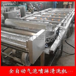 酱菜加工设备 腌制菜清洗机 蔬菜清洗机厂家酱菜厂成套清洗设备