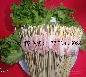 网红铁板猪肉小串30串/40串/把南昌把把小鲜肉专业厂家批发