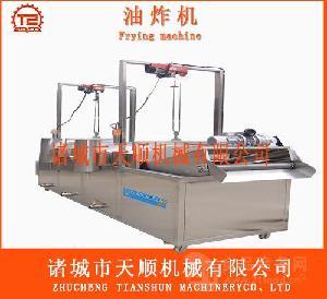 TSZD-80全自动冷冻薯条设备由中国天顺油炸机厂家生产