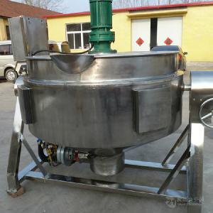 搅拌夹层锅 导热油夹层锅