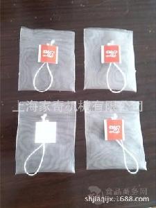 袋泡茶过滤网袋 手工封口茶叶包装袋 三角茶包袋 尼龙网布茶包袋