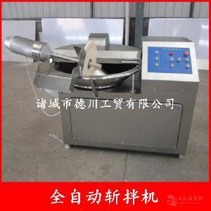 供应丸子加工流水线设备 不锈钢大型变频斩拌机 滚揉机抛丸机