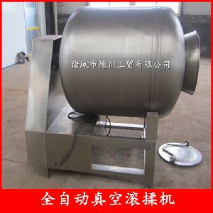 肉串嫩化滚揉腌渍设备 骨肉相连全自动真空滚揉机 肉制品腌肉机