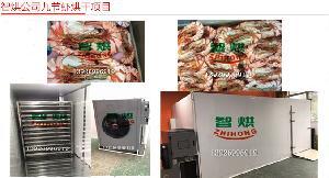 智烘牌九节虾干燥机械ZH-JN-HGJ03专业水产品烘干机