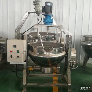 不锈钢夹层锅 可倾式夹层锅 豆浆蒸煮设备 厂家