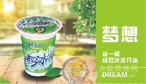 力豆力豆绿豆沙/奶茶饮品持续火爆广西