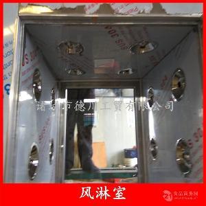 饺子加工风淋室 食品车间净化风淋室 加工车间不锈钢除尘设备