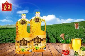 鲁王三级笨榨老豆油1.8L