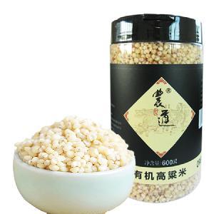 农道 罐装包装有机高粱米 600克/罐(包) 厂家直销