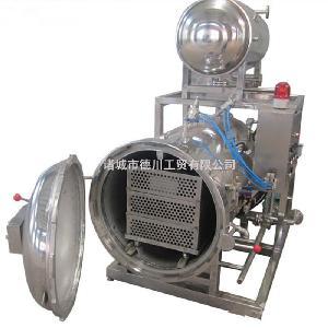 德川供应实验室杀菌锅 小型不锈钢杀菌锅 电加热半自动灭菌设备