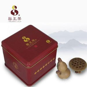 太白山天然生产野生药王茶20袋红铁盒包物流