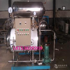 食品高温杀毒设备 双层电加热杀菌罐 杀菌锅