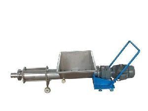 供应果桨输送螺杆泵—带螺杆泵的葡萄除梗破碎机厂家