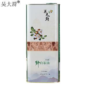 吴大厨山茶油孕妇宝宝食用油野生茶籽油1.6L茶油东方橄榄油月子油