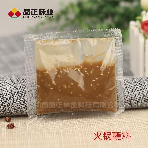 餐饮连锁调味料 外卖自助火锅专用蘸料-花生芝麻酱