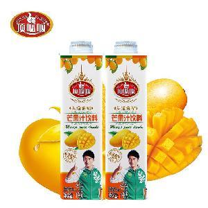 顶呱呱芒果汁饮料OEM/ODM代加工伊之伴生产服务商