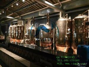 内蒙自酿啤酒设备多少钱啤酒设备厂家报价