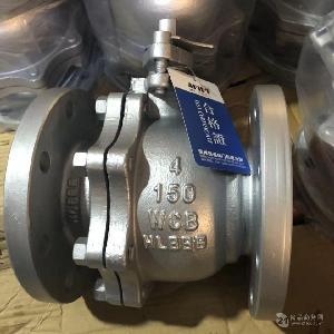 美标铸钢法兰球阀 Q41F-150LB-WCB