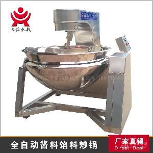小龙虾调料搅拌炒锅三信机械 厂家直销