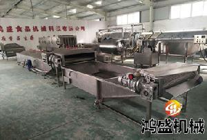 黄花菜漂烫冷却线 鸿盛机械专业生产