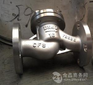 升降式不锈钢法兰止回阀H41W-16P
