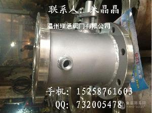 保温不锈钢法兰球阀BQ41F-16P
