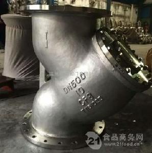 美标不锈钢法兰Y型过滤器GL41W-150LB-304