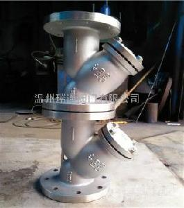 美标Y型不锈钢过滤器GL41W-150LB