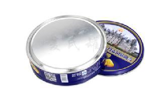 蔓越莓饼干铁罐子 什锦饼干制作铁盒 青稞燕麦饼干铁皮盒定做厂家