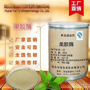 厂家供应 食品级 果胶酶 酶活力 80万U/g 99%