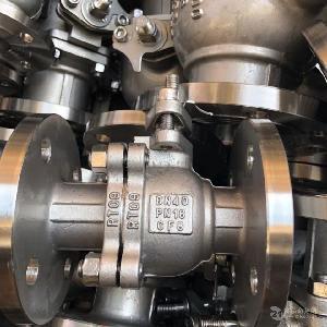 Q41F-16P压力304不锈钢法兰球阀