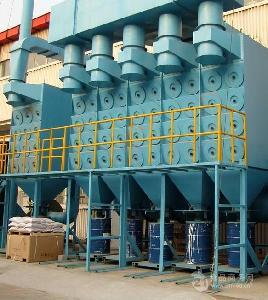 上海滤筒除尘器主机结构及说明