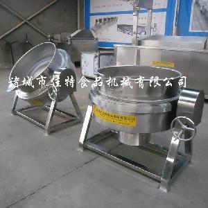 辣椒酱夹层锅 蒸汽夹层锅