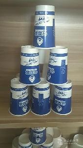 酸奶纸杯70mm口径200ml加厚双淋膜工厂订制