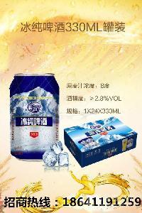 山东地区易拉罐啤酒厂招加盟商