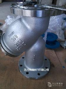 法兰不锈钢过滤器GL41W-16P 304 瑞通阀门