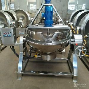 食品厂专用火锅底料全自动炒锅