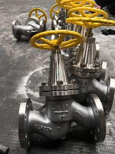 法兰不锈钢氨用截止阀J41B-16P
