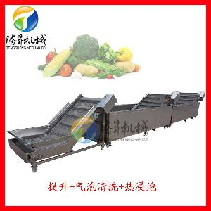 肉类加工设备 速冻猪脚漂烫机 冷却机 加工定制