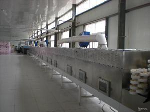 栗微波干燥机微波坚果板栗烘干机