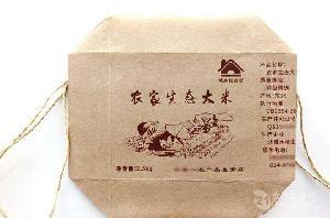 大米杂粮包装袋 大米包装编织袋 昆山牛皮纸袋 牛皮纸阀口袋