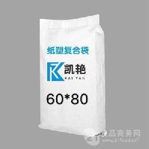 厂家直销 瓷砖粘结剂阀口袋 牛皮纸袋 免费设计 质量保证