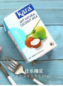 印尼进口Kara佳乐经典椰浆400ml 西米露椰浆饭原料