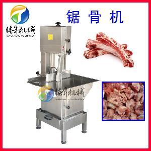排骨锯骨机 冻猪肉切块机 猪蹄切段机