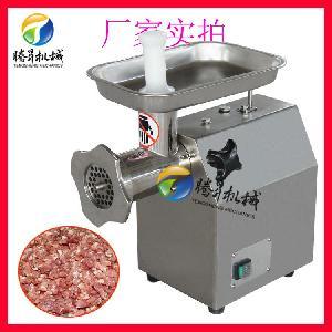 台式不锈钢绞肉泥机 多功能饺子馅机 肉饼机