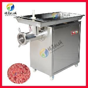 大型不锈钢绞肉机 商用肉馅机 肉饼机