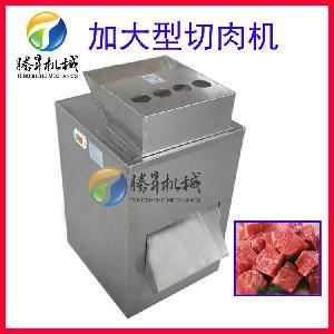 九州娱乐官网厂切肉机 熟食饮品厂不锈钢切肉机 切肉机厂家