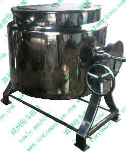 直筒式电加热可倾夹层锅