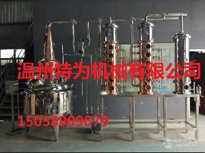 纯铜精油纯露蒸馏器