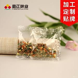 芝麻鸡蛋肉粒蔬菜包 拌面蔬菜包 定制加工 脱水蔬菜包